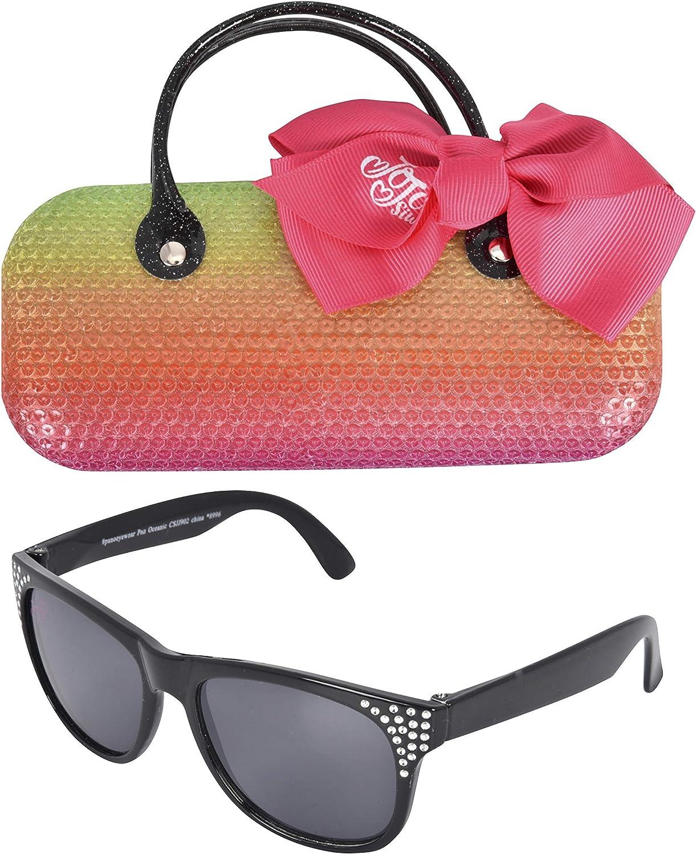 JoJo Siwa Kids Sunglasses with Matching Glasses Case and UV Protection