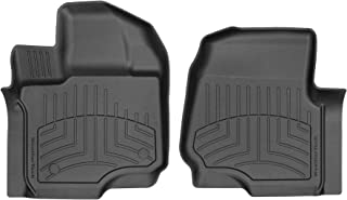 WeatherTech Custom 3D FloorMats for 2015-2019 Ford F-150-1st Row (Black)
