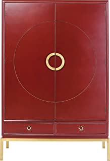 Kare Design Armoire Disk Rouge