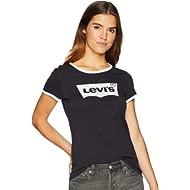 Women's Slim Crew Ringer Tee Shirt