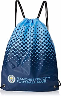 Manchester City FC Official Fade Football Crest Drawstring