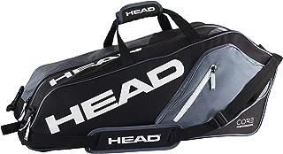 HEAD Core 6R Combi Tennis Racquet Bag - 6 Racket Tennis Equipment Duffle Bag