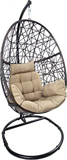 Best patio stand alone swing chair Reviews