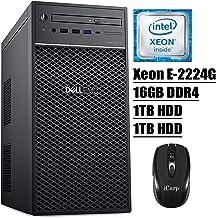 2020 Newest Dell PowerEdge T40 Tower Server Premium Desktop Tower Intel Quad-Core Xeon E-2224G 16GB DDR4 1TB HDD 1TB HDD D...