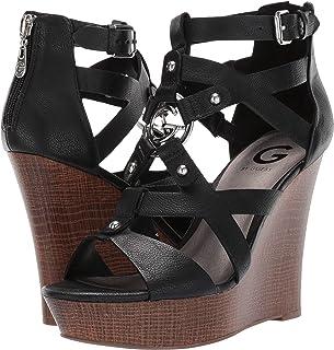 9eb94e6e410 G by Guess Womens Dodge Open Toe Casual Platform Sandals