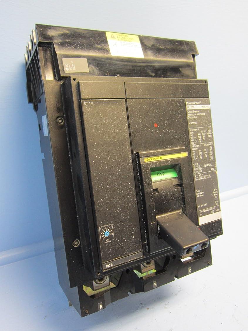 脚カニボンドSchneider Electric Molded Case回路遮断器600-volt 600-amp mja36600メーターEZMブランチリング125?A QO 6位置