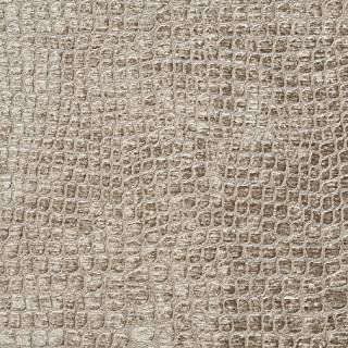 A0151G Platinum Textured Alligator Shiny Woven Velvet Upholstery Fabric by The Yard
