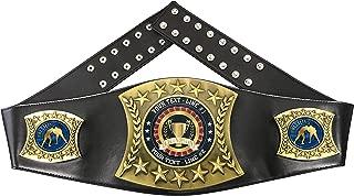 personalized wrestling belts