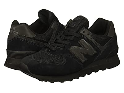 New Balance Classics ML574v2 (Black/Black) Men