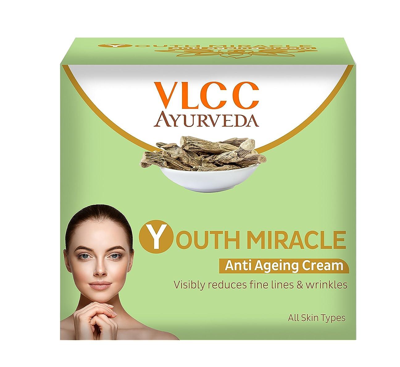 どっちでもアルカイックテクトニックVLCC Ayurveda Youth Miracle Anti Ageing Cream, 50g