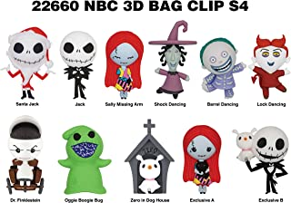 Nightmare Before Christmas Series 4 - 3D Foam Bag Clip in a Blind Bag