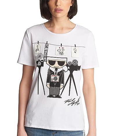 Karl Lagerfeld Paris Photographer Karl Graphic Tee