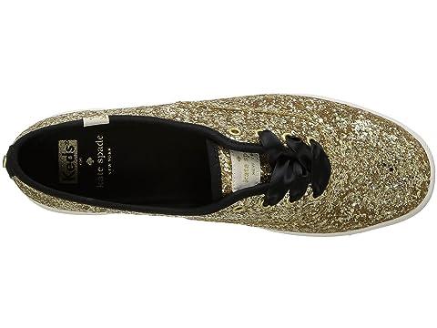 spade kate Glitter york new Champion Gold Keds x qExnFwzn5