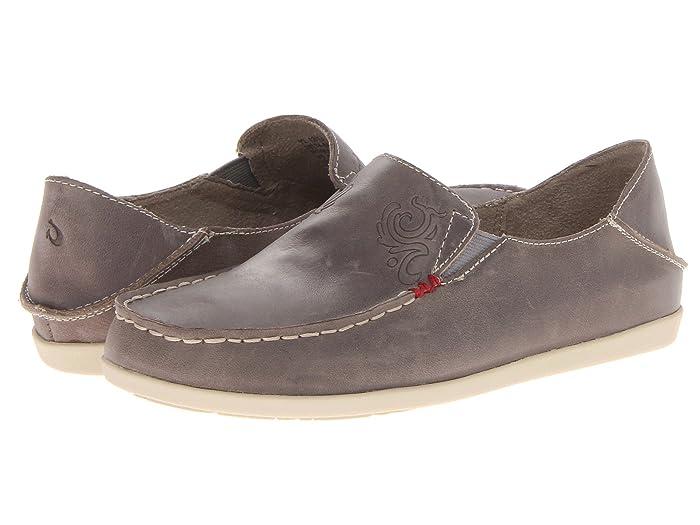 Nohea Nubuck  Shoes (Basalt/Tapa) Women's Slip on  Shoes