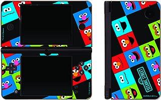 Nintendo DSi XL Sesame Street Friends 3 Piece Decal Set