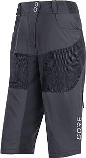 GORE Wear Women's Breathable Mountain Bike Pants, GORE Wear C5 Women's All Mountain Shorts, Size: XS, Color:
