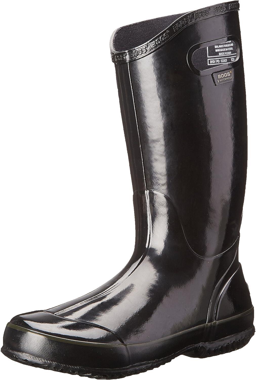 Bogs Women's Solid Rain Boot Black