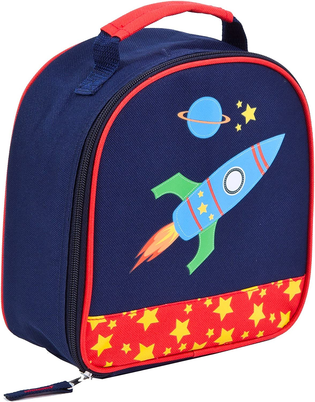 Aquarella Kids Rocket Lunchbox, bluee