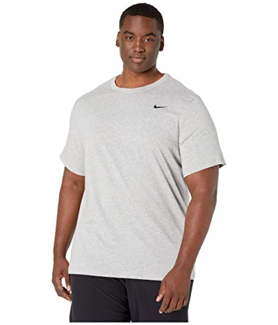 Nike Big Tall Dry Tee Dri-Fit Cotton Crew Solid Men