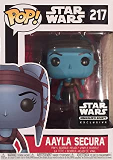 Funko Pop Star Wars Aayla Secura Exclusive Vinyl Bobblehead Figure 217