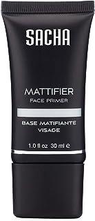 Sacha Mattifier, Mattifying Foundation Primer. Blurs Fine Lines, Pores and Wrinkles. Matte Face Primer and Hydrating Makeu...