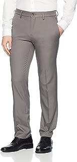 Haggar Men's Cool 18 Pro Slim Fit Flat Front Superflex Waistband Pant