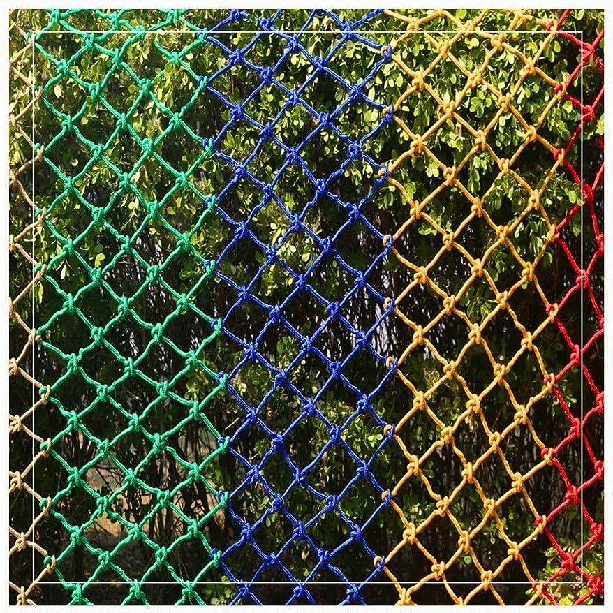 固執フォアマンマーガレットミッチェル多色 多機能多用途ロープ 防護網 白い網 日除け網 防鳥網 階段家庭装飾 家庭の保護 ペット保護 商品の保護 安全装飾 工事現場の防護 防風網 (Color : White, Size : 2*2m)