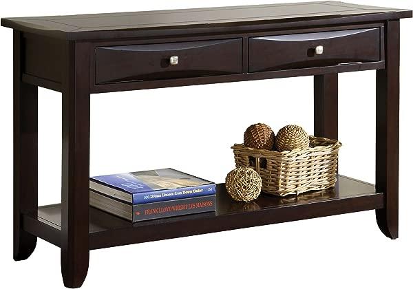Furniture Of America Bury Sofa Table Espresso