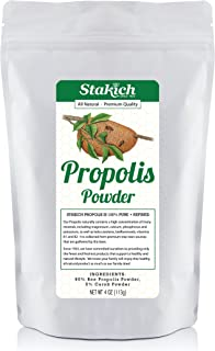 Stakich Bee Propolis Powder - All Natural - 4 Ounce