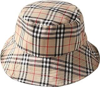burberry bucket hat plaid