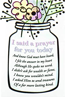 I Said A Prayer for You Today Mini Cardstock Bookmarks Pack of 24