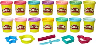 Play-Doh Sparkle and Bright 14 Pack of Cans, Non-Toxic...