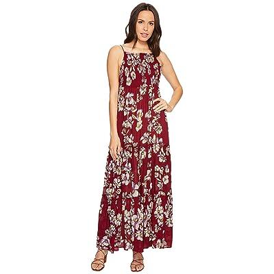 Free People Garden Party Maxi Dress (Raspberry) Women