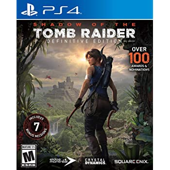 Amazon Com Rise Of The Tomb Raider 20 Year Celebration Playstation 4 Square Enix Llc Video Games