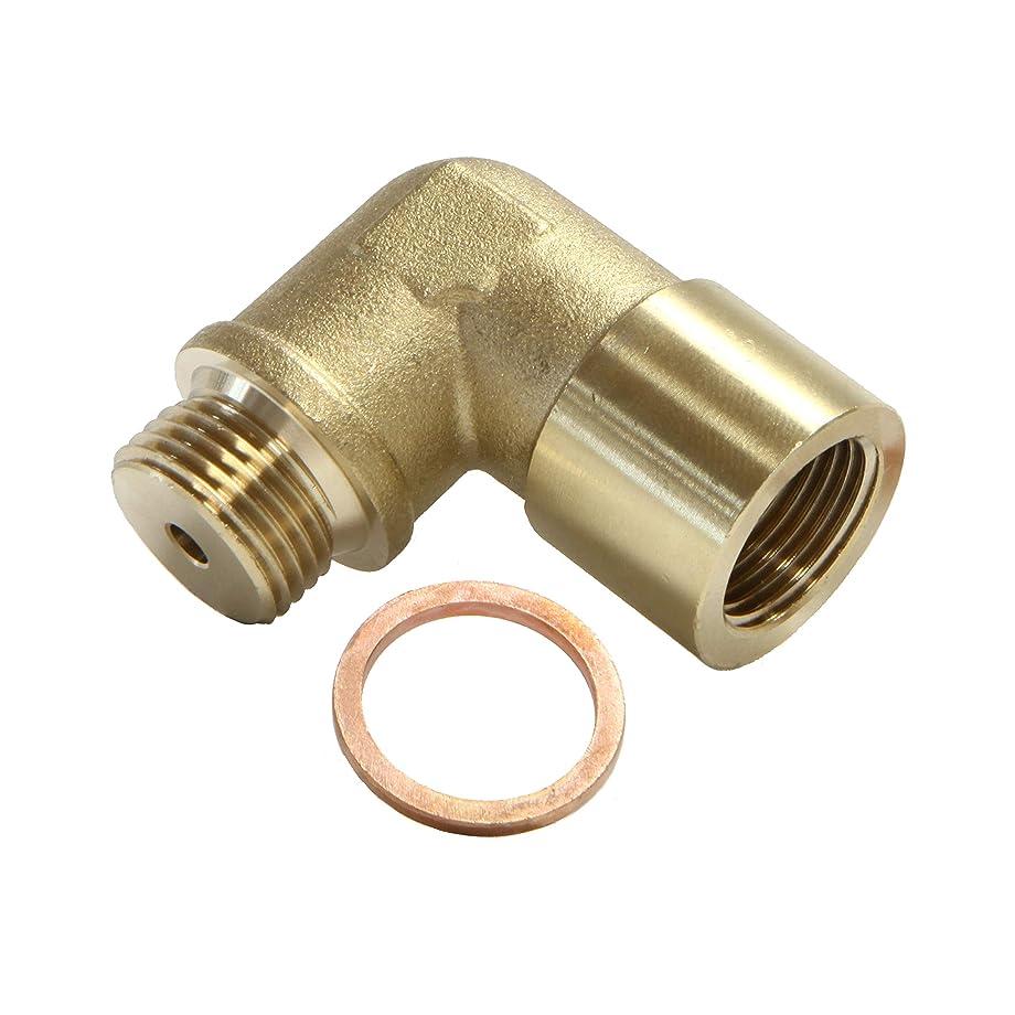 Oxygen Sensor Extender Spacer M18 1.5 O2 Oxygen Sensor Spacer 90 Degree Angled Adapter Extender