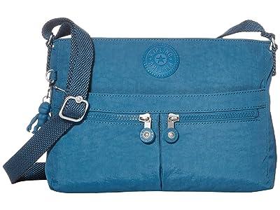Kipling New Angie Crossbody Bag (Mystic Blue) Handbags