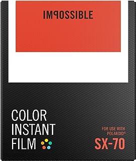 Impossible SX-70 8pieza(s) 88 x 107mm película instantáneas - Película fotográfica instantánea (8 Pieza(s))