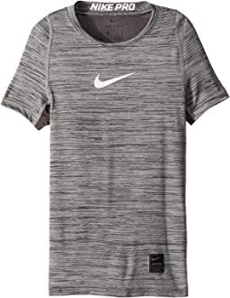 Nike Kids Pro Short Sleeve Top HTR (Little Kids/Big Kids)