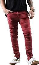 Hat and Beyond Mens Skinny Jeans Stretch Skinny Fit Slim Denim Pants