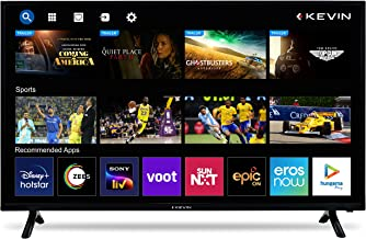 Kevin 100 cm 40 inches HD Ready LED Smart TV KN40SCA Black 2021 Model