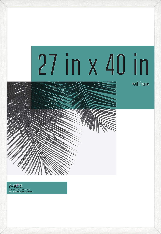 MCS Industries Studio Gallery Frames 27x40 Woodgrain in Popular Max 59% OFF standard White