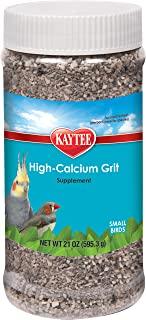 Kaytee Forti-Diet Pro Health Hi-Calcium Grit for Small Birds, 21-oz jar