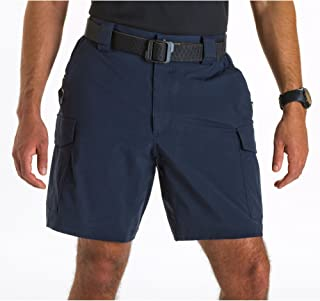 5.11 Tactical Men's 9-Inch Inseam Bike Patrol Shorts, Nylon Spandex Fabric, Style 43057