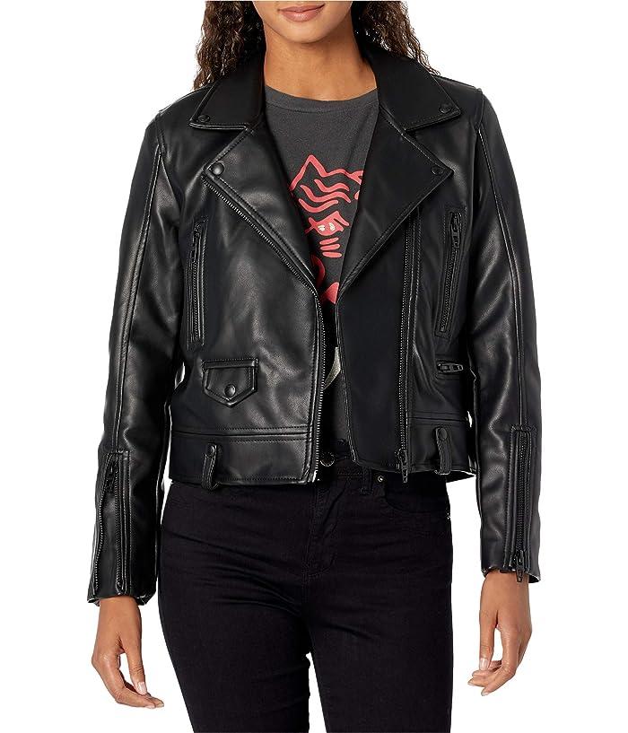 Blank NYC Vegan Leather Moto Jacket (In Demand) Women's Jacket