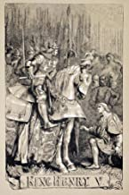 Posterazzi Sir John Gilbert For King Henry V Poster Print by by William Shakespeare. From The Illustrated Library Shakspea...