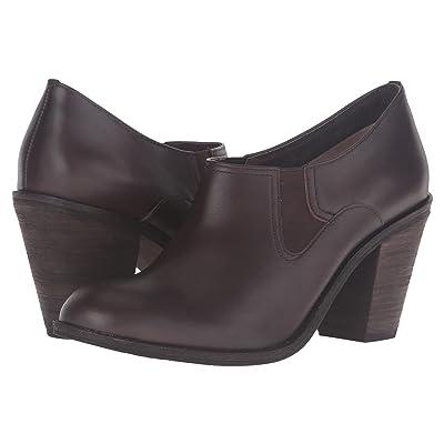 SoftWalk Fargo (Dark Brown Smooth Leather) High Heels