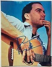 Dave Matthews Autographed Signed Memorabilia 11 X 14 Photo Autographed Signed Memorabilia Beckett Bas COA [Search Album