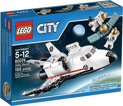 Lego, City, Utility Shuttle (60078) by Prannoi