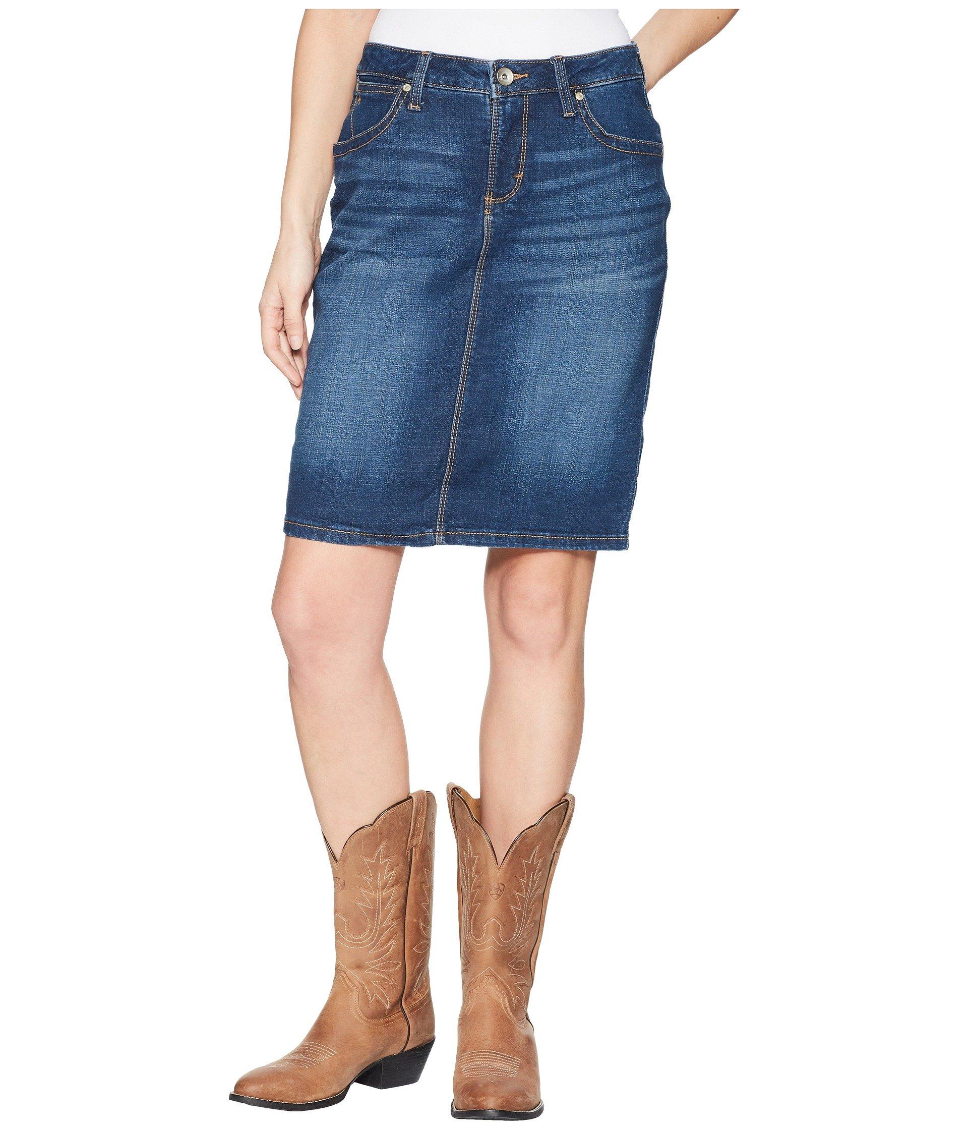 Falda para Mujer Wrangler Western Aura Skirt  + Wrangler en VeoyCompro.net