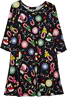 Girls' Cute Ugly Christmas Dress